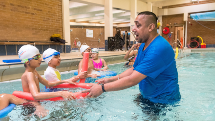 Nationwide shortage of swimming teachers could see 600,000 miss out on lessons