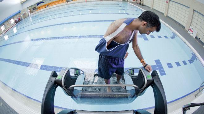 Marathon boost for inclusive swimming