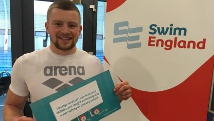 Adam Peaty and James Wilby back Swimming Safety Pledge