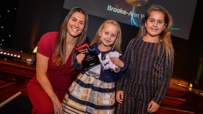 Brooke-Ann's determination lands her a national award
