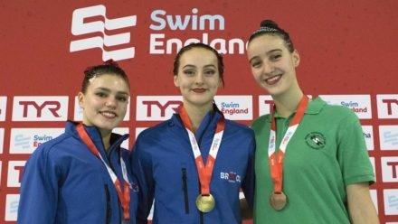 Greta Hampson dominates as she wins second gold