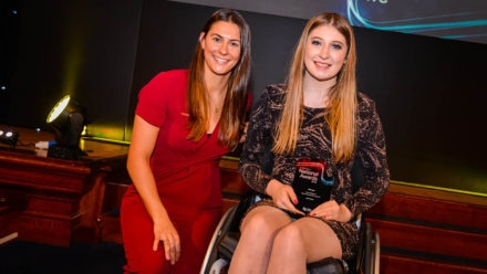 Brave Isla's achievements are honoured at national awards
