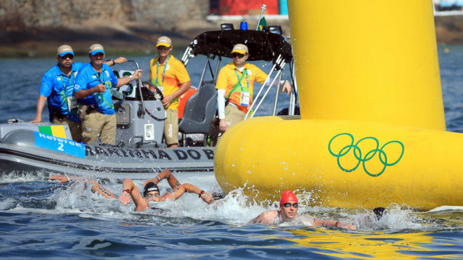 Open water at the Olympics
