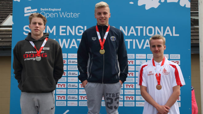 Jack Buswell wins boys' 3km event