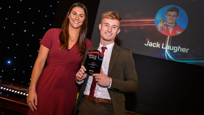 Divers are honoured at the Swim England National Awards