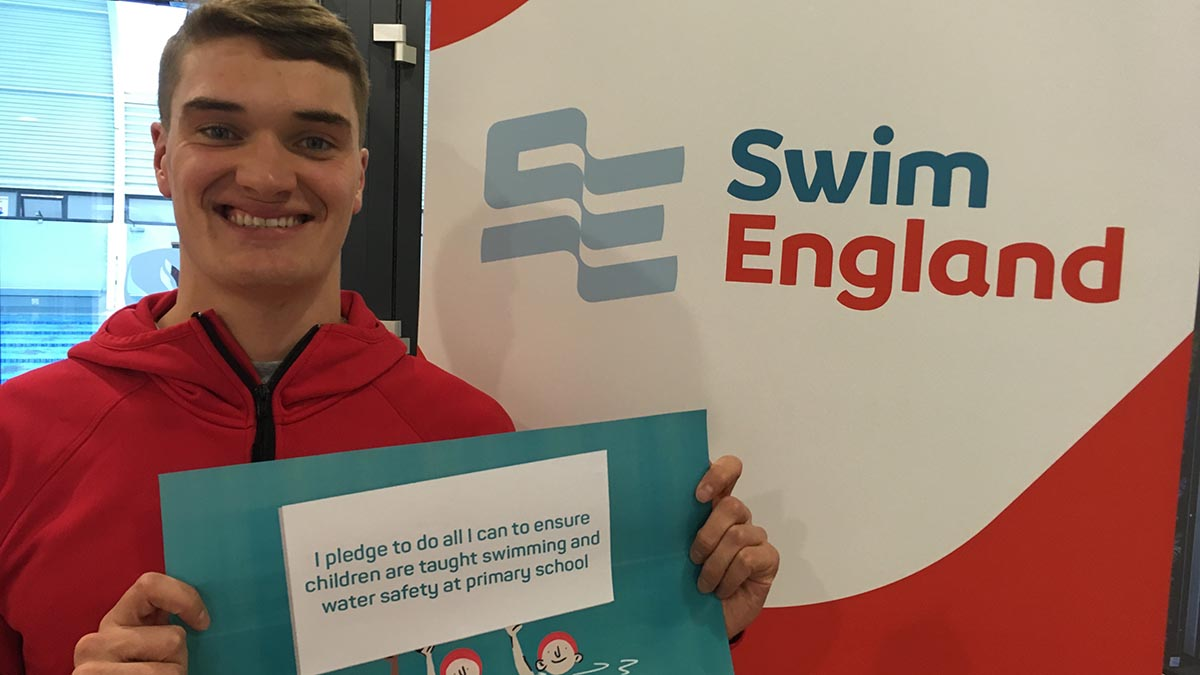 Commonwealth Games gold medallist James Wilby has backed Swim England's Swimming Safety Pledge