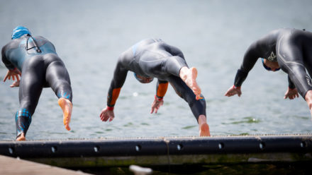 Open water coach offers top tips to improve race starts
