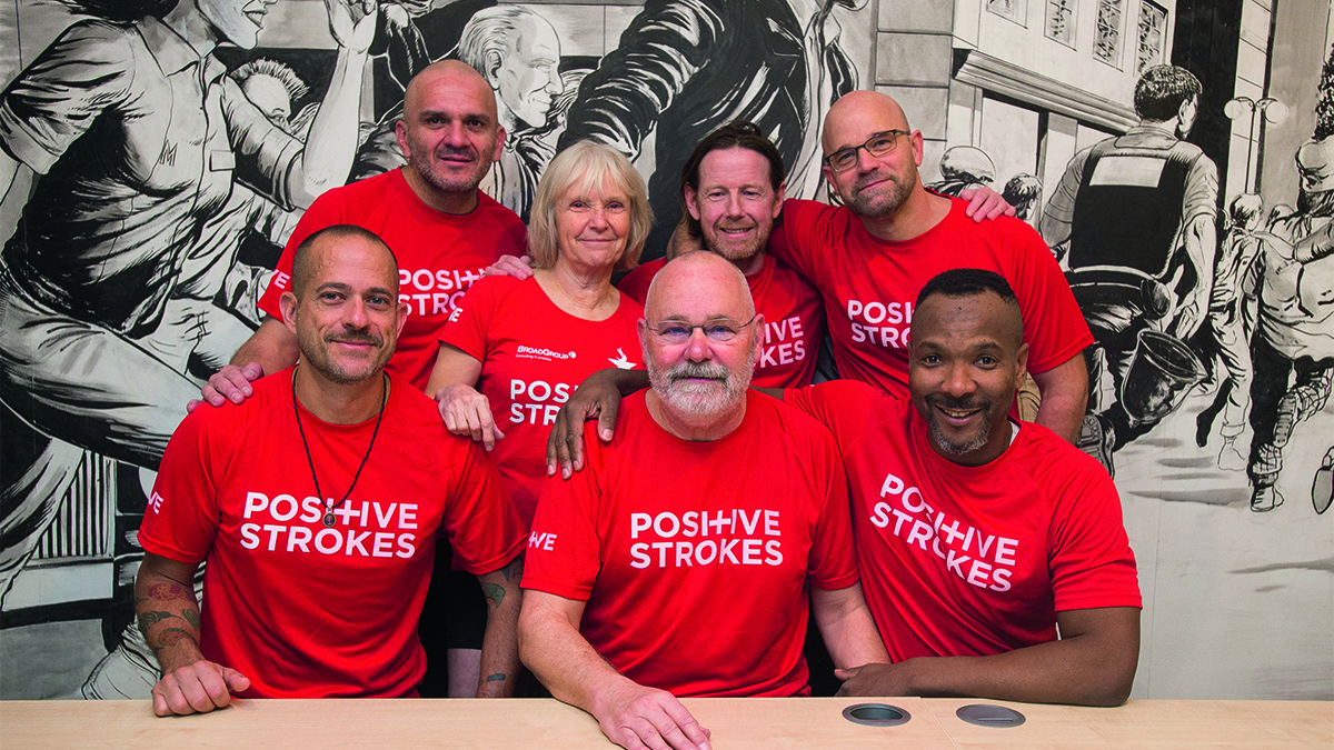 Positive Strokes team