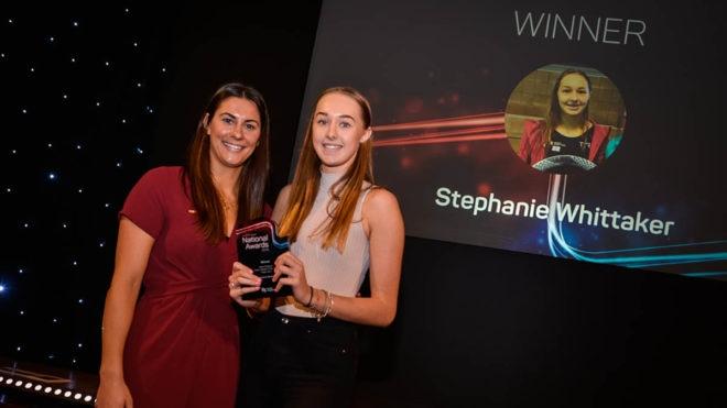 Water polo internationals honoured at Swim England awards