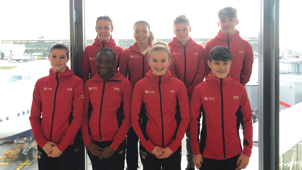 Divers from Swim England Team Y will be competing at the CAMO Invitational in Canada
