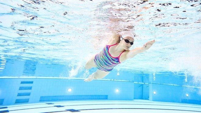 12 days of Christmas swimming session