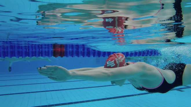 Tips for improving breaststroke arm technique