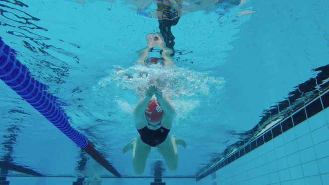Improve your kicking in breaststroke
