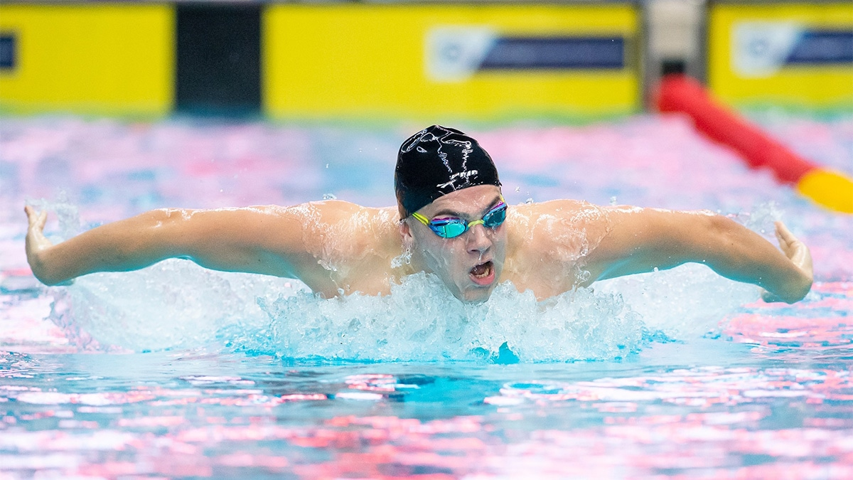 Team England swimmers book finals spot on first day at Winter Champs