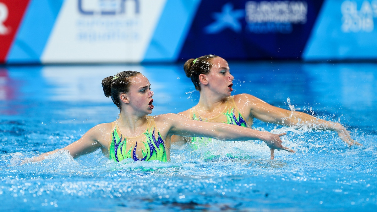 Kate Shortman and Isabelle Thorpe synchro duet