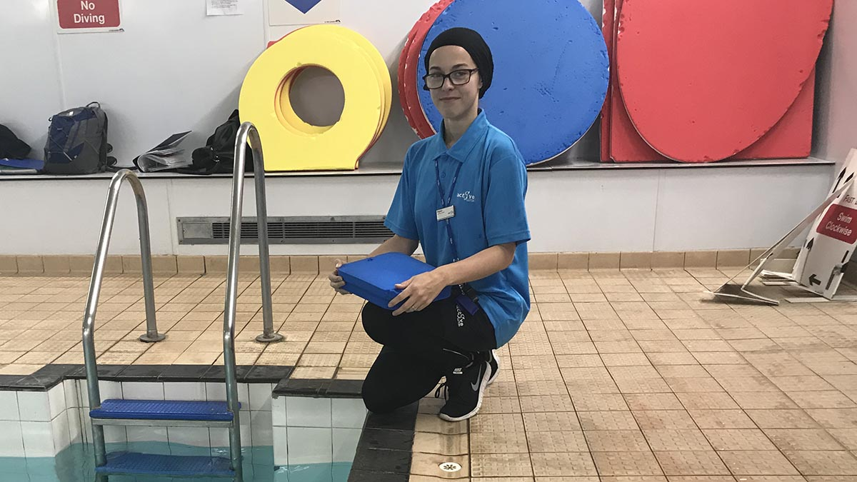 Swimming Teacher Story: Meghan Hawash