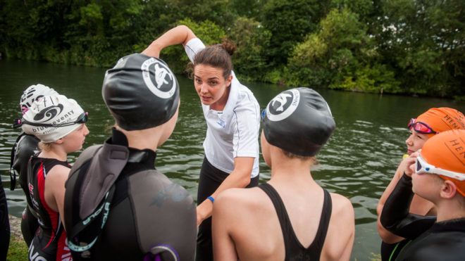 How to become an open water coach