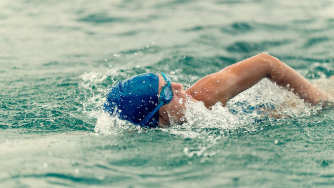 Differences between coaching open water and pool swimming