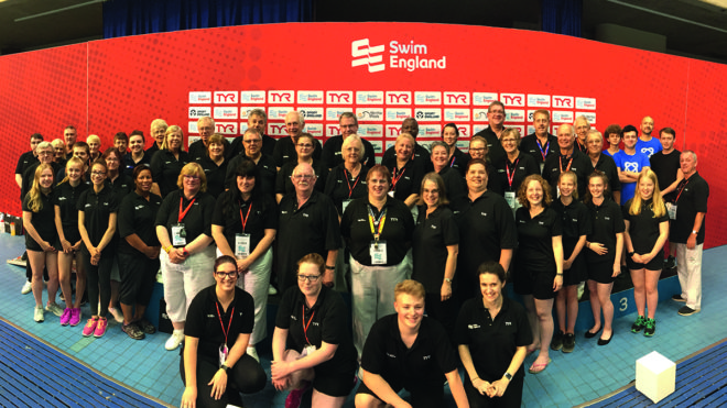 Swim England jointly launches new Event Volunteer Hub