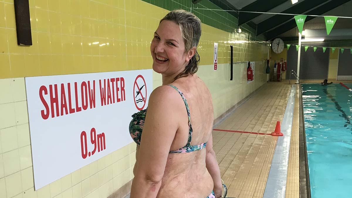#LoveSwimming star Sylvia Mac honoured by Prime Minister Theresa May