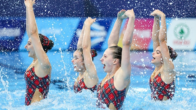 Karen Thorpe reflects on year full of highlights for synchro stars