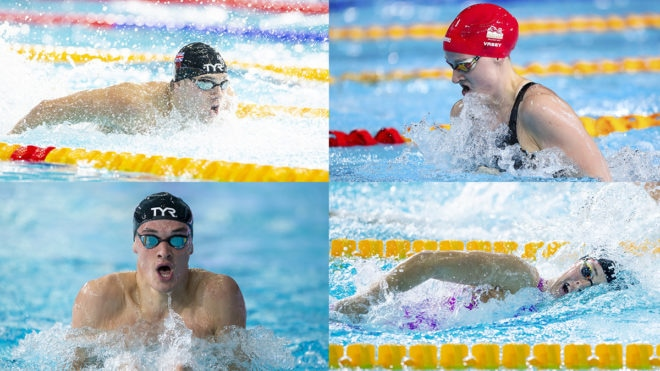 Elite swimmers enter National Winter Championships