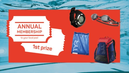 Start 2019 off with a bang and win with Swim England