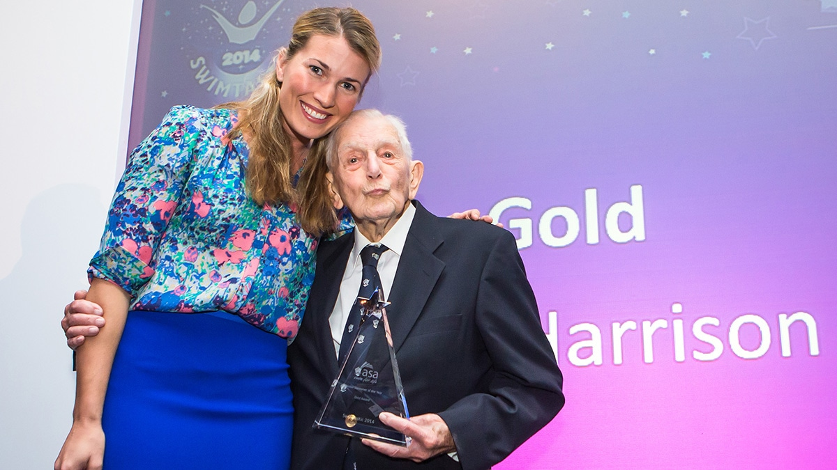 'You're never too old'… John Harrison, 104, on his record-breaking achievements