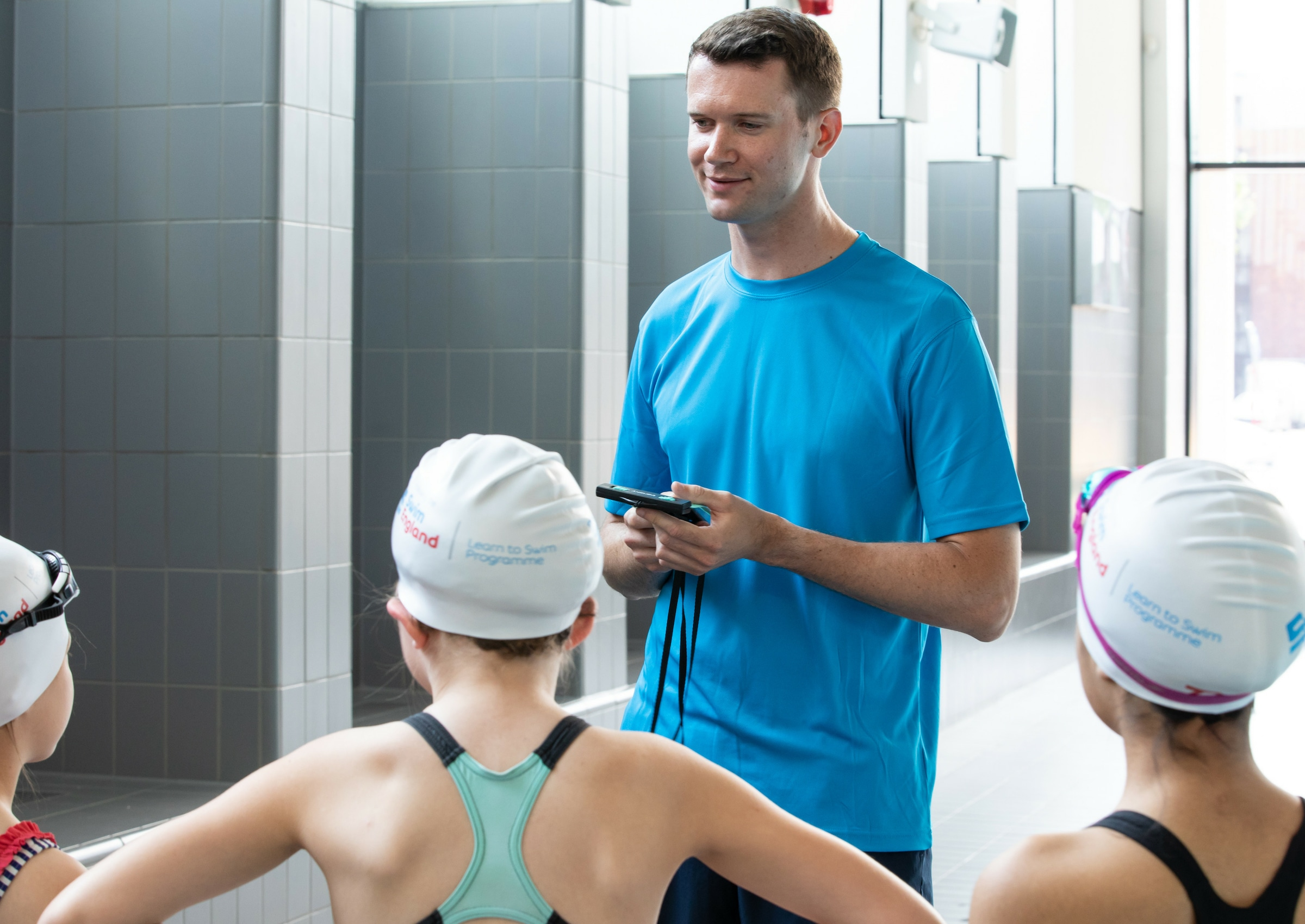 New free Mobile Devices in Swimming Lessons resource now available