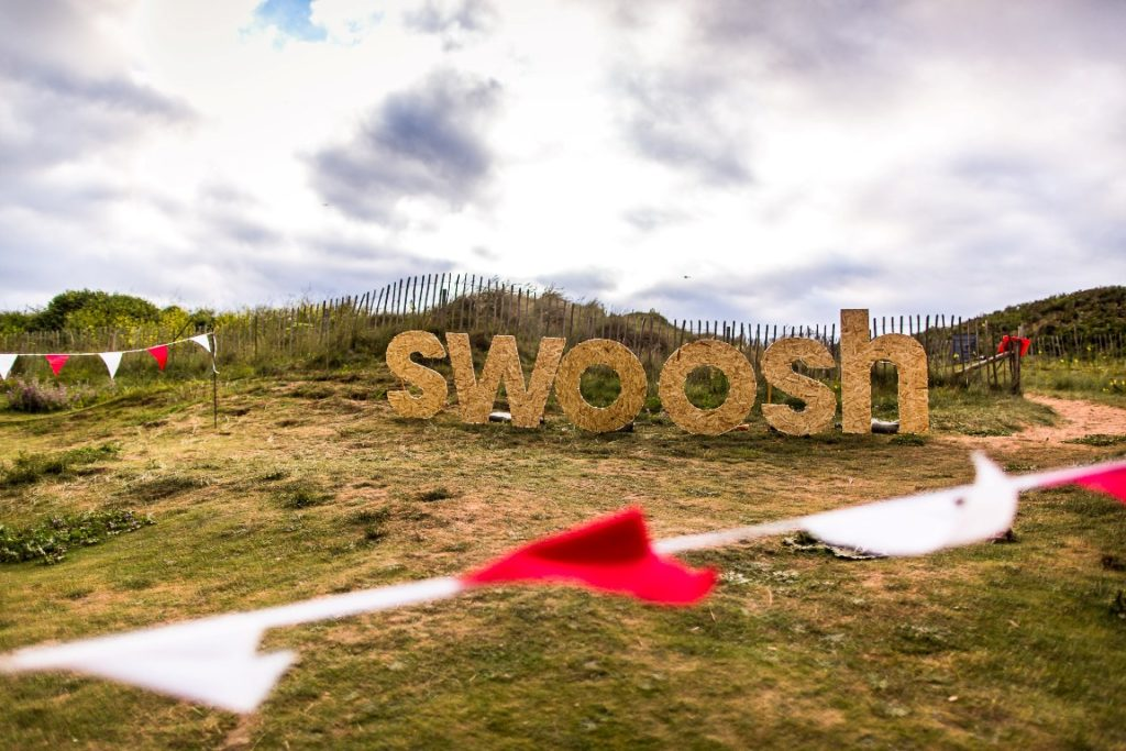 Bantham Swoosh image. Copyright Graham Wynne