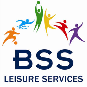 BSS Leisure Services logo. Used for swimming teacher training courses run by BSS Leisure Services in Bolton