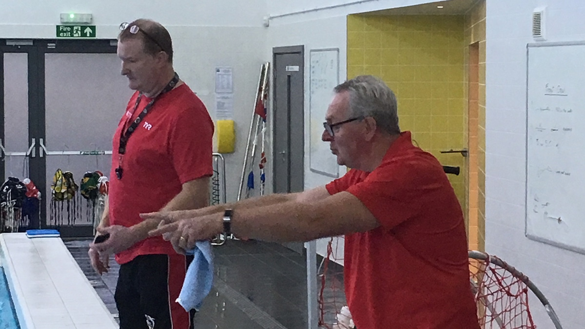 Water polo coach Chris selected for nationwide development programme