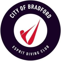 City of Bradford Esprit Diving Club logo