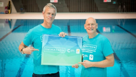 Olympians urge swimmers to sign up to Swimathon and make a splash for charity