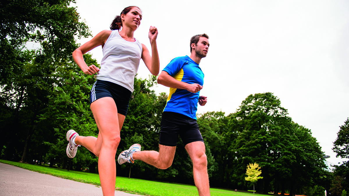 Running is one way to improve your cardio