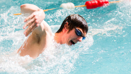 Swimming Endurance Pool Training Session 18