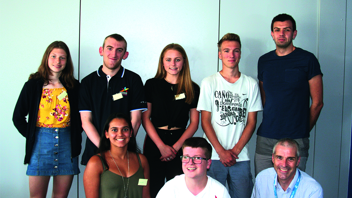 Ben delighted to be appointed Youth Advisory Panel vice-chairperson