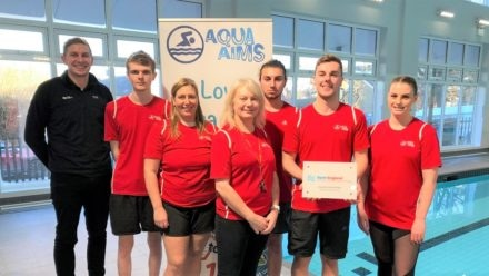 Aqua Aims high after gaining Learn to Swim Accreditation for excellence