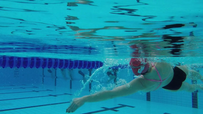 Improving your arm technique in backstroke