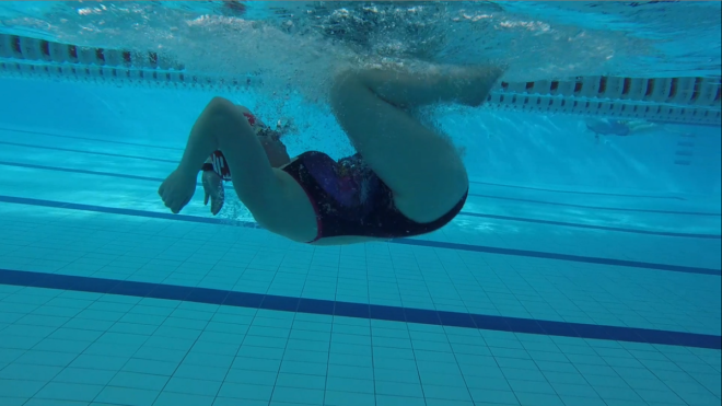 How to do a front crawl tumble turn