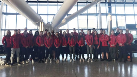 Swim England youngsters taking on some of Europe's best swimmers