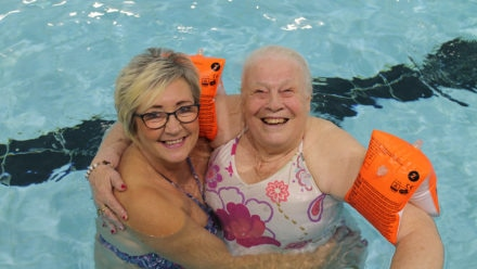 How stroke survivor Val is still able to enjoy her love of swimming