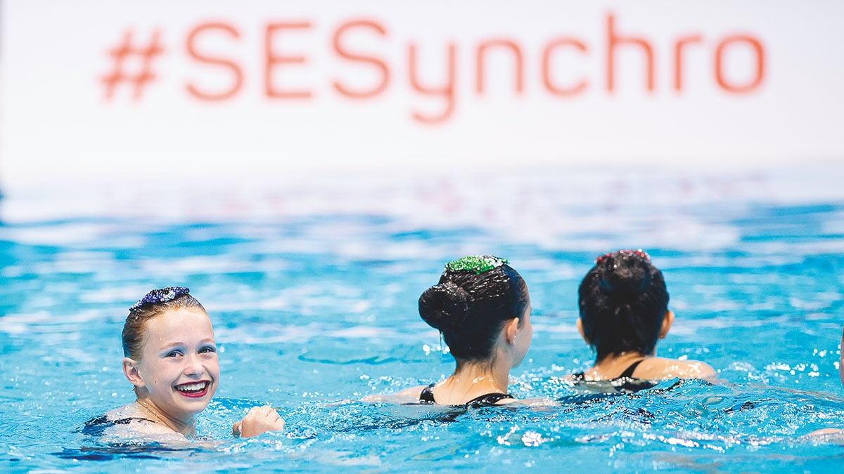 Kingston Synchro compete at the Combo Cup