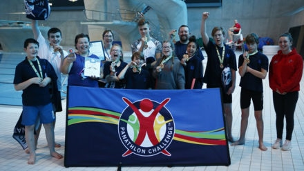 Proud pupils compete at National Deaf Swimming Finals