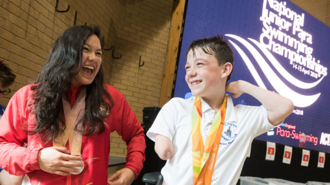 Swimming part of new inclusive youth sport festivals