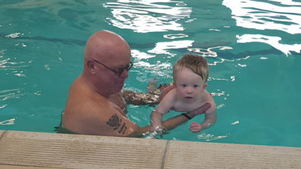 How learning to swim has improved my child's confidence