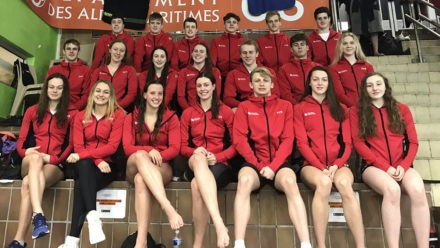 Swim England talent youngsters are praised for their professionalism