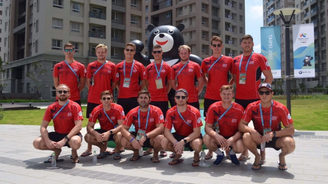 Great Britain's men to compete at World University Summer Games