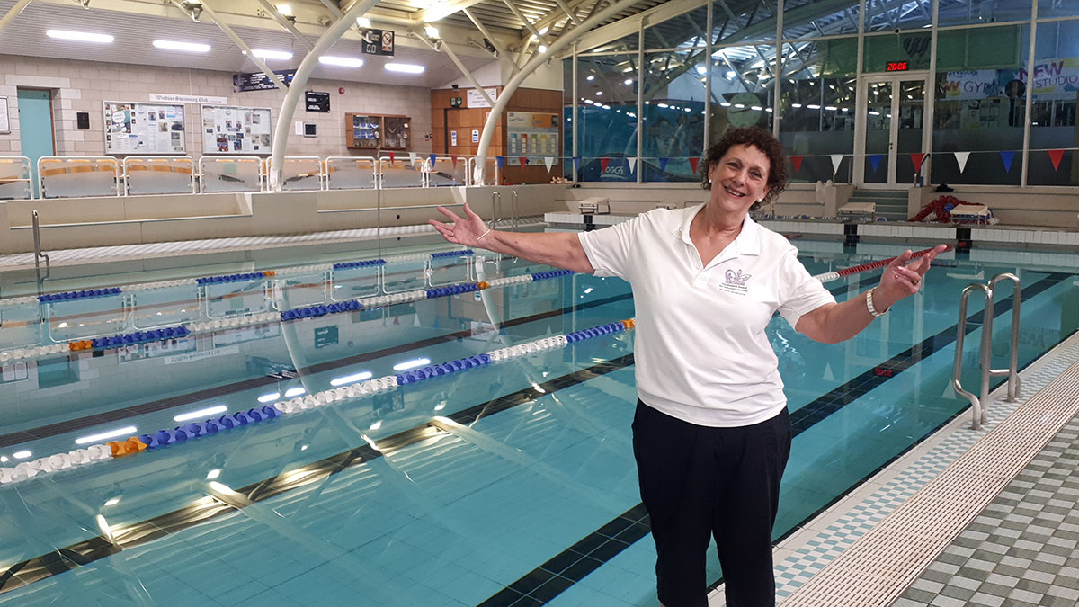 How Electric Eels Swimming and Synchro Club is helping to transform lives
