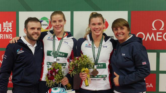 FINA Diving World Series bronze in Beijing for Grace Reid and Kat Torrance